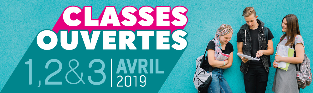 Classes ouvertes 2019